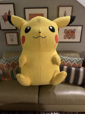 Giant stuffed Pikachu for Sale in Los Angeles, CA
