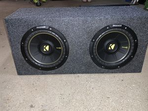 "10"" kicker subs with amp for Sale in Southbridge, MA"