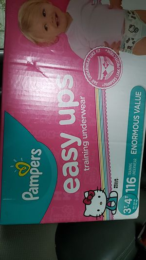 Pampers easy ups 3T-4T for Sale in Shoreline, WA