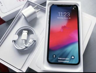 iPhone || X || iCloud Unlocked || Factory Unlocked || Works For Any SIM Company Carrier || Works For Locally & INTERNATIONALLY || >Like New< for Sale in Springfield,  VA