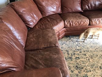Genuine Leather Couch for Sale in Phoenix,  AZ