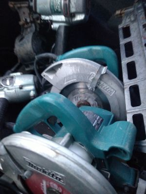 2 makita saws 75 FOR THE PAIR (they both work) for Sale in Pooler, GA