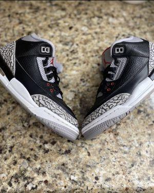 Jordan Retro 3 (Black Cement) for Sale in Waddell, AZ