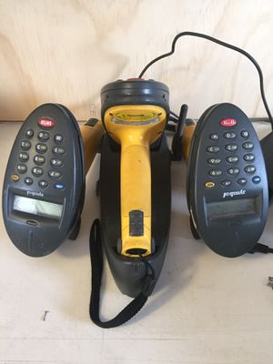 Symbol P370 3 Wireless hand scanners and one charger. for Sale in Cerritos, CA