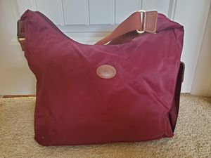 Burgundy messenger bag (crossbody bag) for Sale in Los Angeles, CA