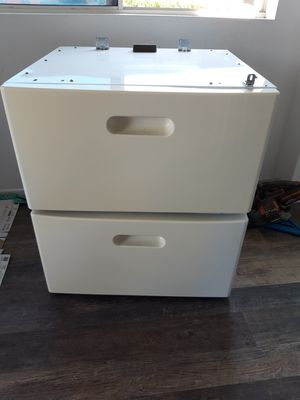 DRAWERS ONLY drawers for front load washer and dryer for Sale in San Diego, CA