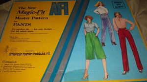 Magic Fit Master Pattern for Pants for Sale in Scottsdale, AZ