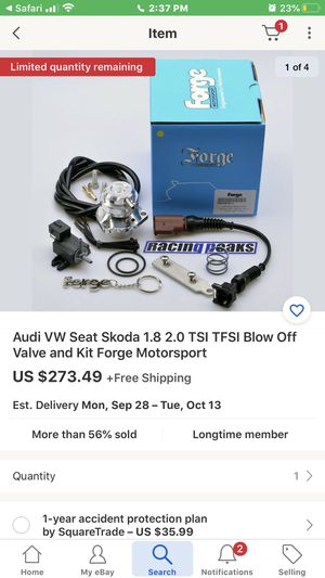 Audi vw blow of valve for Sale in Montclair, CA