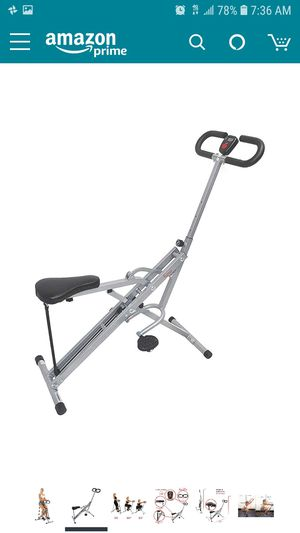 Sunny Health & Fitness Squat Assist Row-N-Ride Trainer for Squats for Sale in Tucson, AZ