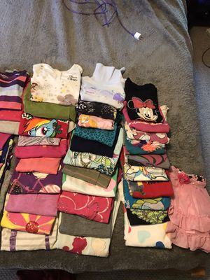 Used girls clothes, size 6-7. Altogether 50 pieces for Sale in Calabasas, CA