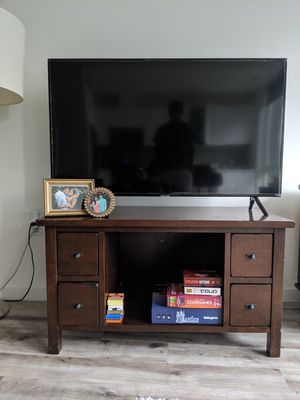 TV console & entertainment center for Sale in Seattle, WA