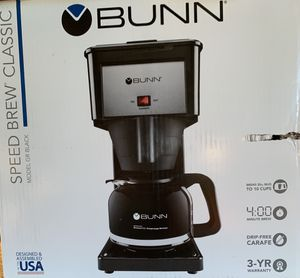 BUNN speed brew coffee maker for Sale in Pleasantville, OH