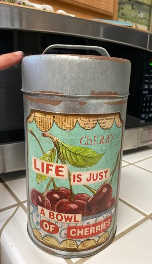 Storage Tin Container for Sale in Oakley, CA