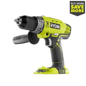 RYOBI 18-Volt ONE+ Cordless 1/2 in. Hammer Drill/Driver (Tool Only) with Handle for Sale in Temple, GA