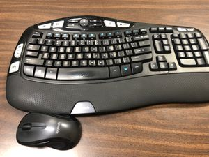 Logitech wireless keyboard and mouse for Sale in Elkhart, IN
