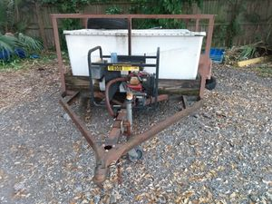 Trailer 5×10 with generator for Sale in St. Petersburg, FL