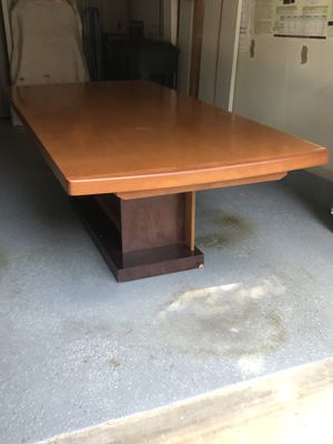 Wood Dining Room Table for Sale in Rockville, MD