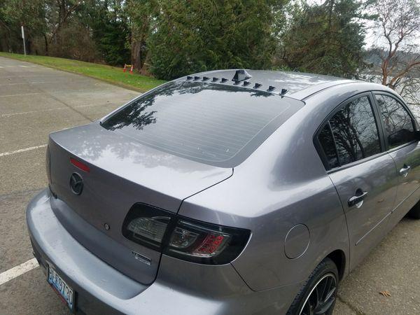 Mazda 3 Sedan 2.3L (Loud exhaust)