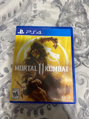 Mortal kombat 11 and injustice 2 for ps4 for Sale in Grand Rapids, MI