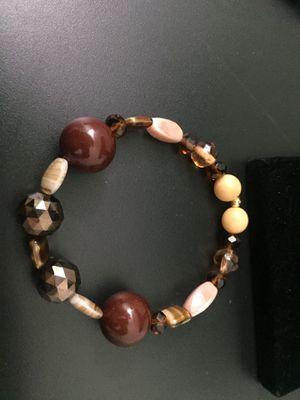 Earth Tones Beaded Bracelet for Sale in Upper Marlboro, MD