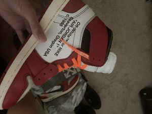 Off White Jordan Retro 1s Chicago for Sale in Argyle, TX