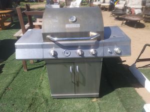 stainless steel Master Forge propane gas BBQ Grill for Sale in Phoenix, AZ