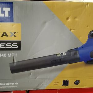 Kobalt 140-MPH 80-Volt Max Lithium Ion Brushless Handheld Cordless Electric Leaf Blower (Battery Included) for Sale in Lilburn, GA