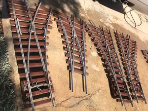 Live Steam, 7.5 gauge, aluminum/ composite Railroad switches for Sale in Colton, CA