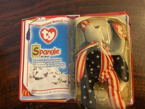 TY Beanie Babies Spangle International Bear 2000 Ronald McDonald for Sale in Little Egg Harbor Township, NJ