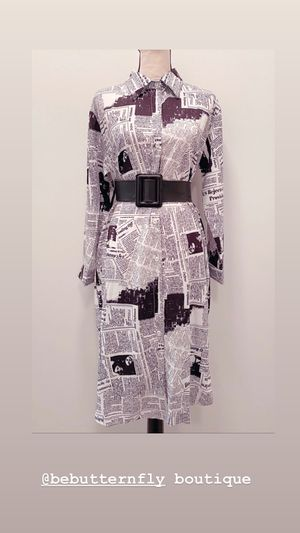 Along News paper Dress for Sale in Atlanta, GA
