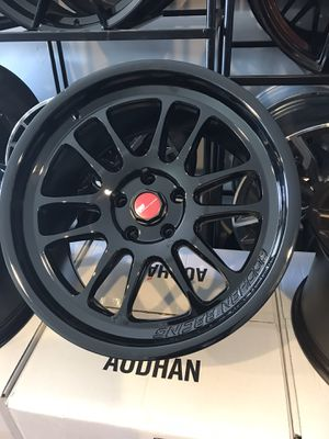 "18"" AODHAN wheels rim set staggered Flow Form fits most 5 lug vehicles super easy financing available for Sale in San Diego, CA"