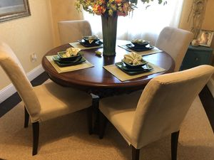 Table and four chairs for Sale in Stockton, CA