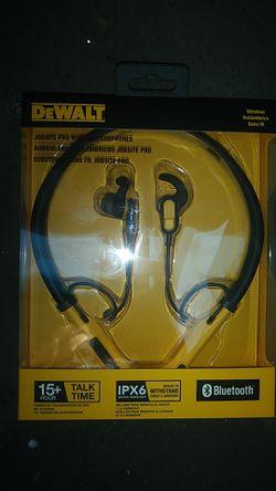 Dewalt jobsite wireless headphones for Sale in Vancouver,  WA