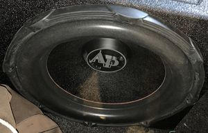 Audio pipe 15 inch subwoofer for Sale in The Bronx, NY