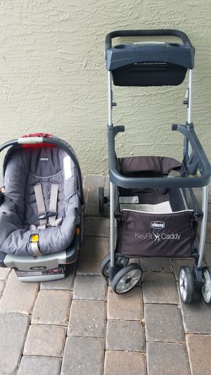 Car seat, base and stroller for Sale in VLG WELLINGTN, FL