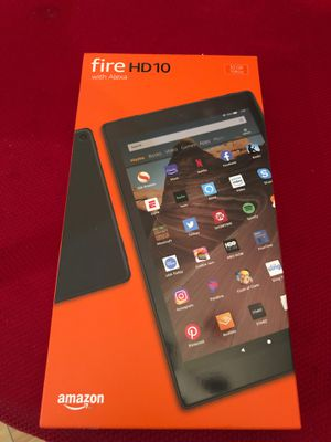 "FIRE HD 10 with ALEXA ,10.1"" 1080 full had display for Sale in Las Vegas, NV"