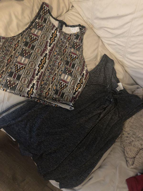 Size S/M blouses