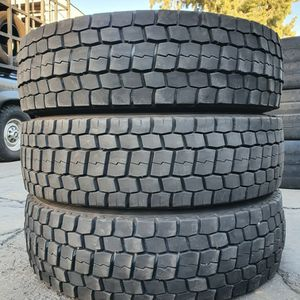 (3) 225 70 19.5 Bridgestone Tires for Sale in Lynwood, CA