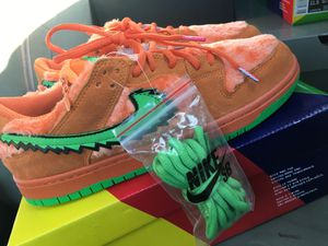 Check out the Nike SB Dunk Low Grateful Dead Bears orange for Sale in Greenville, SC