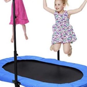 2 Sided Trampoline And Basketball Hoop Stand for Sale in Encinitas, CA