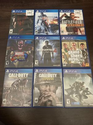 PS4 games for sale or trade let me know what you got !!! for Sale in Los Angeles, CA