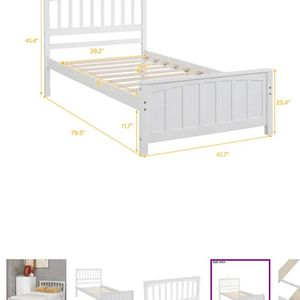 Twin Platform Bed for Sale in Staten Island, NY