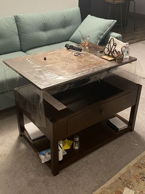 Coffee tables with free lamp! for Sale in Belmont, MA