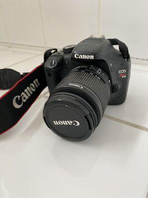 Canon Rebel t2i camera for Sale in El Cajon, CA