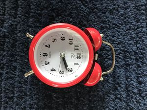 Small Red Metal Alarm Clock (5 Remaining) for Sale in Winter Garden, FL
