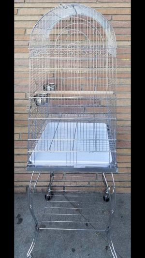 Wrought iron bird cage with stand for Sale in San Jose, CA