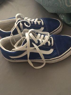 Blue vans 30 for Sale in Westgate, NY