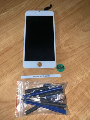 New iPhone 6s Plus LCD Screen White for Sale in Los Angeles, CA