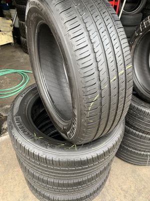 235/60/18 set of Michelin tires installed for Sale in Rancho Cucamonga, CA