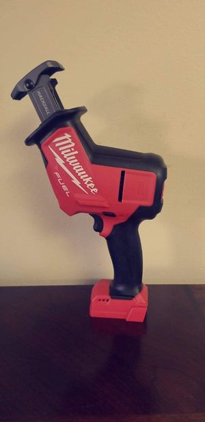 Milwaukee M18 Fuel HackZall for Sale in National City, CA